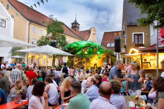 Altstadtfest 500 Jahre Reinheitsgebot Hallertau Info